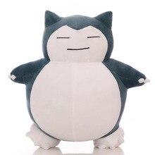 Милый большой Snorlax плюшевая игрушка прекрасный супер мягкий аниме куклы гигантская мягкая подушка Kawaii отличный подарок Тедди для детей дропшиппинг