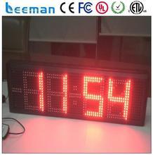 Leeman из светодиодов время время баннер  из светодиодов время температура вывесок  температура время дисплей