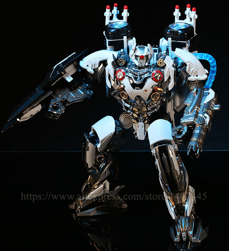 Black Mamba Transformers toy Alloy enlargement LS-03 Optimus Prime God of war