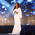 Nova Chegada Dubai Kaftan Marroquino Najwa Karam Celebridade de Um Ombro Vestidos de Noite 2016 Turkish Desgaste Formal