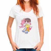Sexy Fashion Top female VOGUE Letter Print Friends Tv T-shirts for women Womens harajuku Ladies T-Shirts Long Sleeve T-Shirt