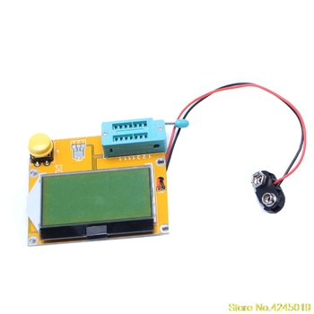V2 68 ESR-T4 Mega328 Digital Transistor Tester Diode Triode Capacitance ESR  Meter MOS/PNP/NPN LCR