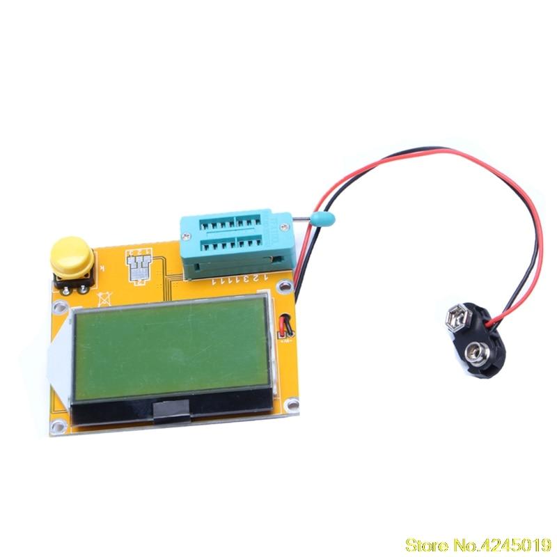Nova Alta Qualidade Transistor Tester Diodo Triode Capatitância Esr Lcr Medidor Mos Pnp Npn Lcr-t4