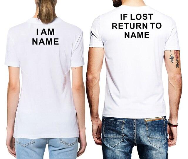 Name printed t shirts arts arts for Print name on shirt