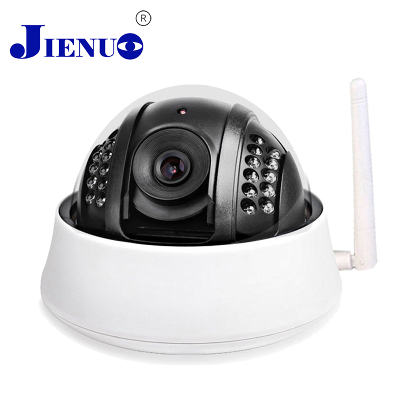 Dome IP camera wireless video Infrared Onvif Wifi 720p Hd Home security system indoor surveillance CCTV nitht Infrared cam jienuo ip camera 960p outdoor surveillance infrared cctv security system webcam waterproof video cam home p2p onvif 1280 960