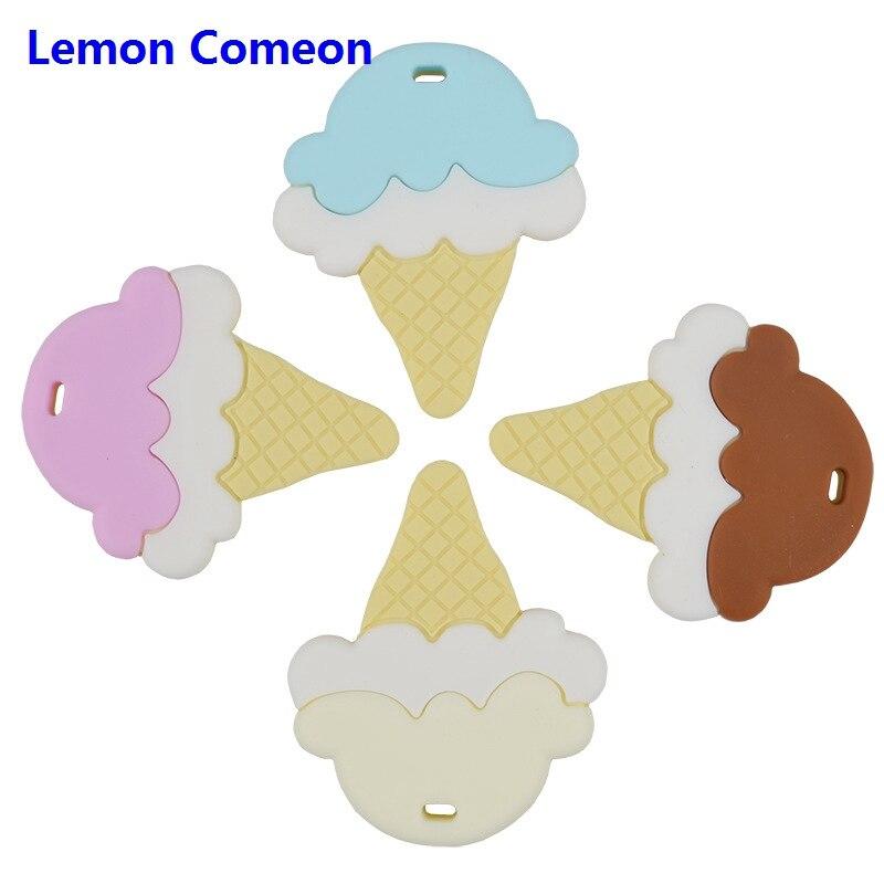 Baby Teether Ice cream Pattern Silicone Nursing