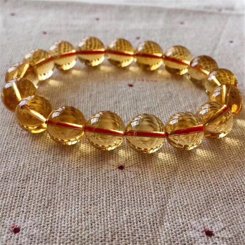 Natural Citrine Quartz Bracelet (3)