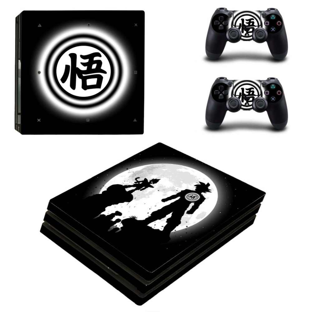 Vinilo PS4 Pro Skin Dragon Ball Sticker Play station 4 Pro Stickers For Sony PlayStation4 Pro Console and Controller Skins