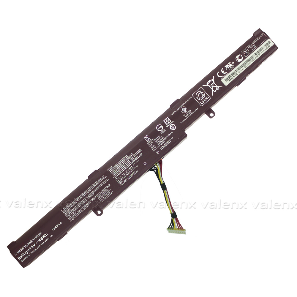A41N1501 Laptop Battery for ASUS GL752JW GL752 GL752VL GL752VW N552 N552V N552VW N752 N752V N752VW Series