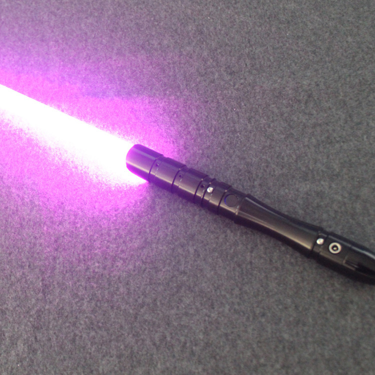 16 di colore Spada Laser Metallo Spada Laser RGB Cosplay di Boy Gril Giocattolo Luminoso Regalo Dei Capretti Luce Esterna Creativo Wars Giocattoli Bastone sciabola - 3