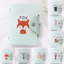 Coneed The New Fashion Creative Fresh Cute Animals Women Bank Card Package Coin Bag Credit Card 2019 May10 P40(China)