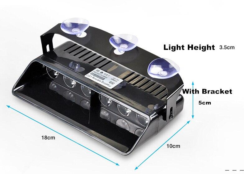 6 φώτα έκτακτης ανάγκης LED - Φώτα αυτοκινήτων - Φωτογραφία 3