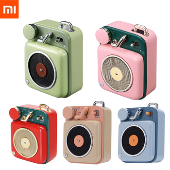 Xiaomi Mijia Cat King Atomic Record Player B612 5 Colors Bluetooth Intelligent Audio Portable Zinc Aluminum shell speaker Mu Portable Speakers