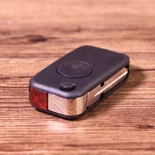 1 przycisk kluczyk Flip wymienne etui z ostrzem nadające się do Mercedes Benz W168 W124 W202 1984 1993-2000 2001 2002 2003 2004