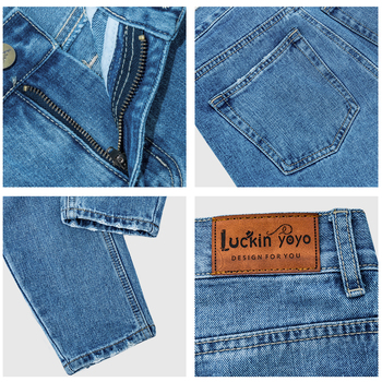 luckinyoyo jean woman mom jeans pants boyfriend jeans for women with high waist push up large size ladies jeans denim 2019 4