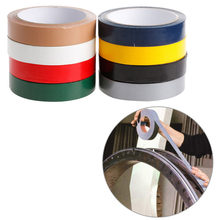 YIKAA Duct Gaffa Gaffer Waterproof Adhesive Repair Bookbinding Cloth Tape Red/Black/Blue/Brown/Green/Silvery Gray/White/Yellow(China)