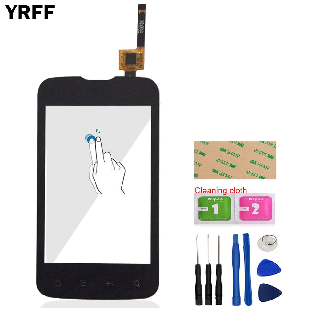 3.5'' Phone Touch Screen Panel For Fly IQ238 Touch Screen Digitizer Front Glass Len Replacement TouchScreen Tools Adhesive Wipes