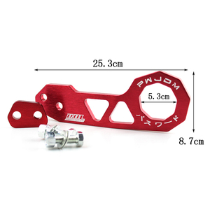 Image 4 - RASTP   JDM Style Racing Rear Tow Hook Aluminum Alloy Rear Tow Hook For Honda Civic RS TH004