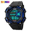 Nova Marca SKMEI Men Sports Relógios Moda Casual LED Relógio Digital de Relogio masculino Militar Relógio de Pulso À Prova D' Água