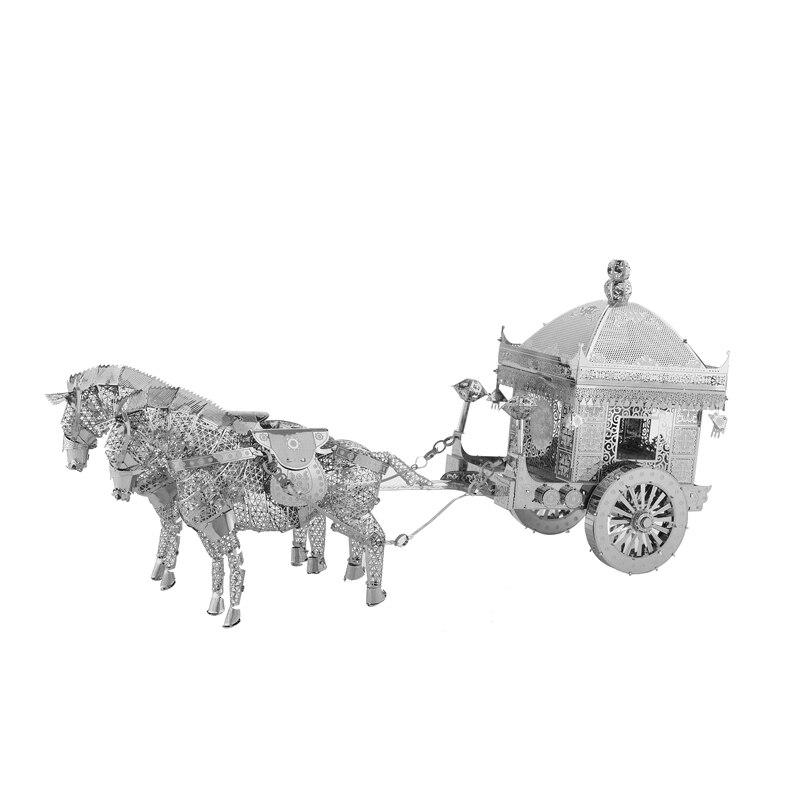 3D Metal Model Puzzles მრავალ სტილის DIY - ფაზლები - ფოტო 3