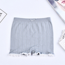 Hot Sales Women S Casual Soft Seamless Lace Shorts Stretchy Cotton Summer Trendy