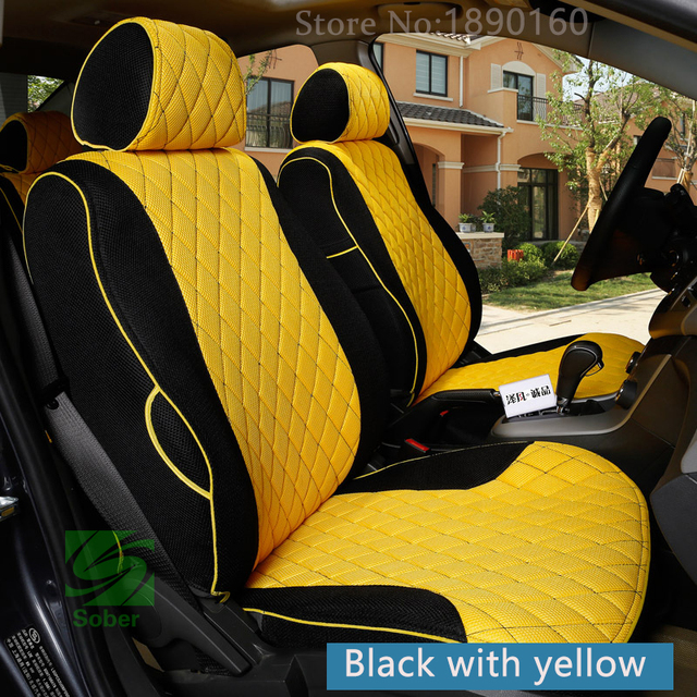 2016 Newly!High Quality Special car seat covers for Fiat 500 2014-2011 durable comfortable seat covers for 500 2013