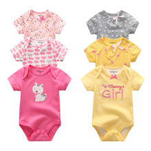 2019 Unicorn Bodysuit Roupa de bebe Baby Clothes Cotton Clothing Sets Baby Girl Clothes Newborn 0-12M Baby Boy Clothes(China)