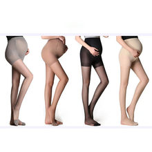 Maternity Ultra Thin Tights Stockings Pregnant Women Pregnancy Pantyhose For Summer/Spring One Size 4 Colors#H3Z1(China)