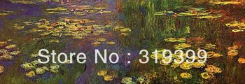 Oil Painting Reproduction on Linen cavas,Water Lilies 1920-1926, 100%handmade,Free Fast Ship,museum Quality