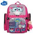 Ортопедические школьные сумки Delune  для детей  девочек  с 3D-принтом кота  Детский рюкзак с героями мультфильмов  класс 1-3  2019