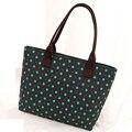 2016 saco de lona menina estrela colorida saco das senhoras das mulheres totes único sacos de ombro único new hot alta qualidade preto grande capacidade