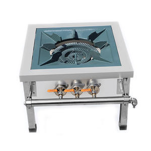 Cooking-Stove Oven Commercial Dual-Cooker Gas Liquefied-Gas Energy-Saving Stainless-Steel