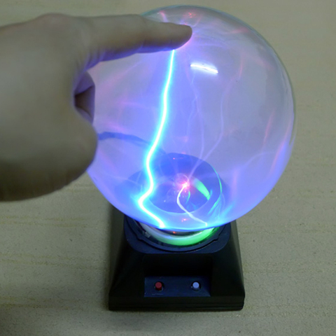 4 6 polegada plasma bola lampada luz