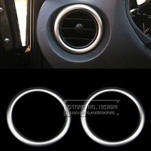 Ди автомобиль ABS Интимные аксессуары для Mercedes-Benz Vito 2016 подкладке спереди выход воздуха Рамка отделкой полосы хром блестящий пластины наклейки