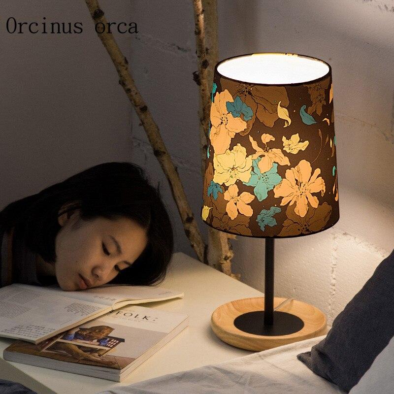 Jardin américain oiseau lampe de table chambre lampe de chevet nordique moderne simple personnalisé créatif lampe à LED livraison gratuite