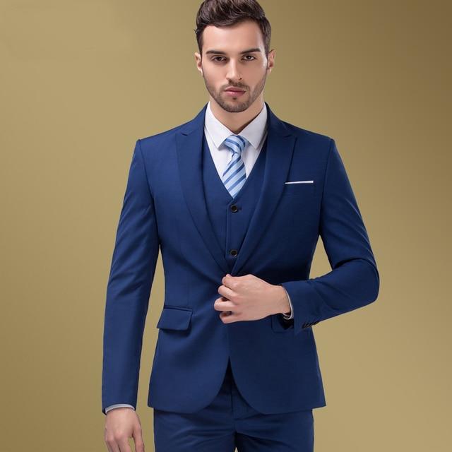 Mens wedding dress slim suit commercial men 39 s clothing for Men s wedding dress shirts