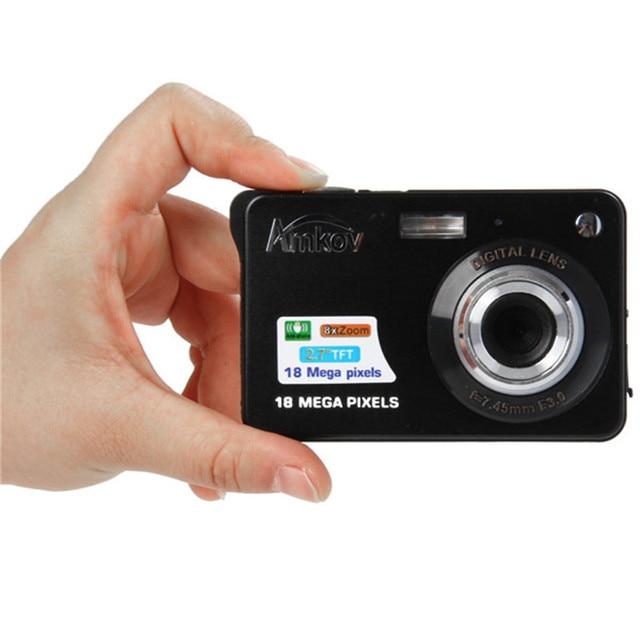 mini amkov camara fotografica digital 18 megapixel 720p hd shoot