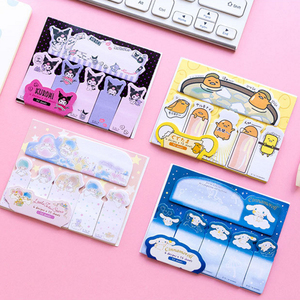 Image 3 - 20packs/lot kawaii cartoon memo pad sticky notes planner label sticker stationery school supplies wholesale