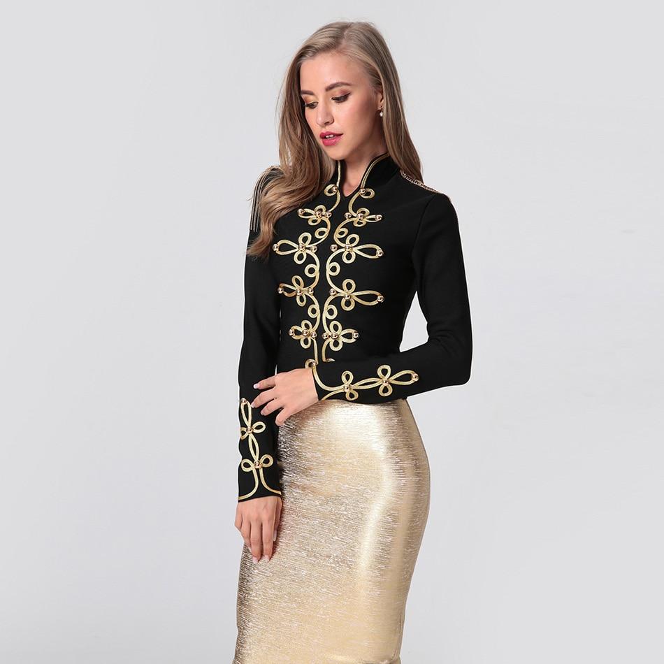 2019 New Arrivals   Basic     Jacket   Long Sleeve Coat Casual Stand Collar Party Celebrity Nightclub Fashion Slim Bodycon Windbreaker