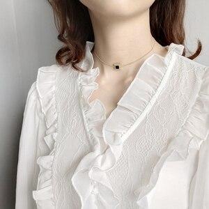 Image 5 - LouLeur collier ras du cou en zircon