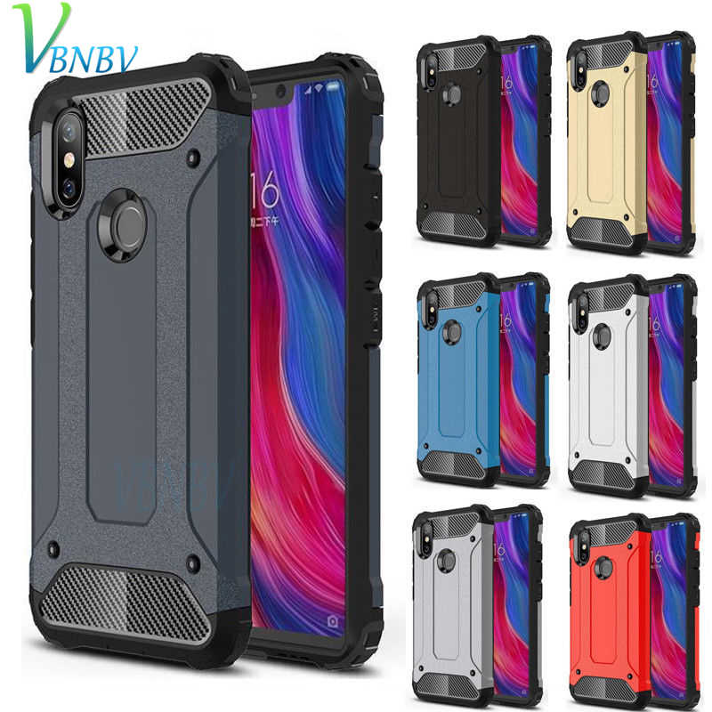 Shockproof Armor Phone Case For xiaomi 9 8 SE 8 Lite Pro 6 5 Plus Hard Rugged Impact Cover Case For A2 5X 6X Mix 2 3 Max 2 3 F1