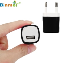 Binmer USB Power Adapter EU Plug Wall Travel Charger for iphone for Samsung for LG G5 Top Quality Hot Selling Colorful JUL 13