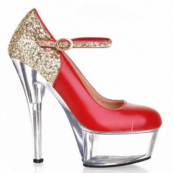 gold glitter platform high heel pumps women glitter sexy wedding shoes Crystal shoes party dress shoes хайлайтер catrice highlighting powder 015 цвет 015 merry cherry blossom variant hex name e7a5ab