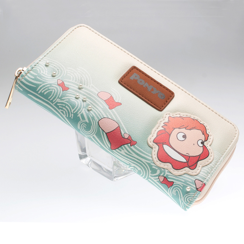 Ponyo Wallet  Fashion Women Wallets Designer Brand  Purse Lady Party Wallet Female Card Holder DFT-5041