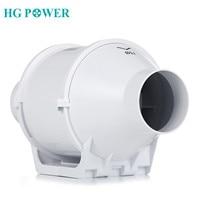 4inch 100mm Home Inline Duct Fan Ventilation Tube Fan Vent Air Blower Exhaust Fan 220V Booster Turbo Fan for Household Grow Tent