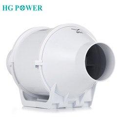 4inch Stille Hause Inline-rohrventilator 100mm Belüftung Ventilator Air Vent Gebläse 220V Booster Turbo Extractor fan für Haushalt