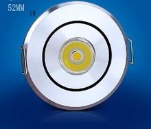 цены 2017 Led Spotlight Free Shipping: 10pcs /lot 52mm 68mm Down Light,,ac95-265v, / Lighting,with High Brightness,free Shipping