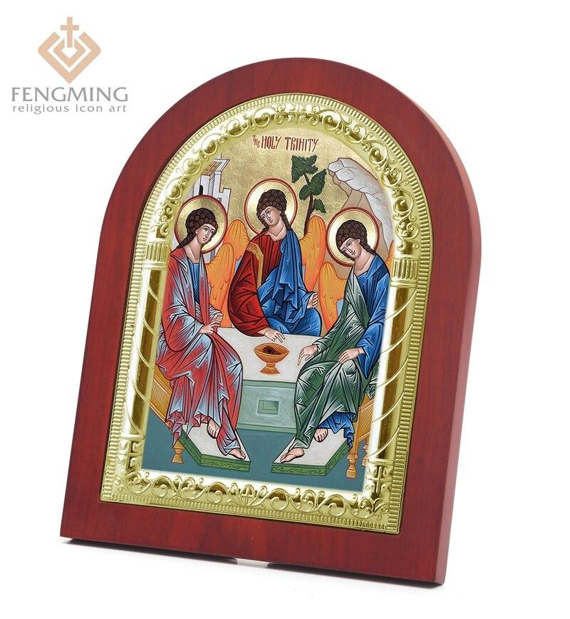 Φ_ΦArtesanía barata vendimia christain icono de la Santísima ...