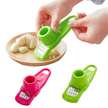 Lovely pet Multifunction Stainless Steel Pressing Garlic Slicer Cutter Shredder Kitchen Tool 913