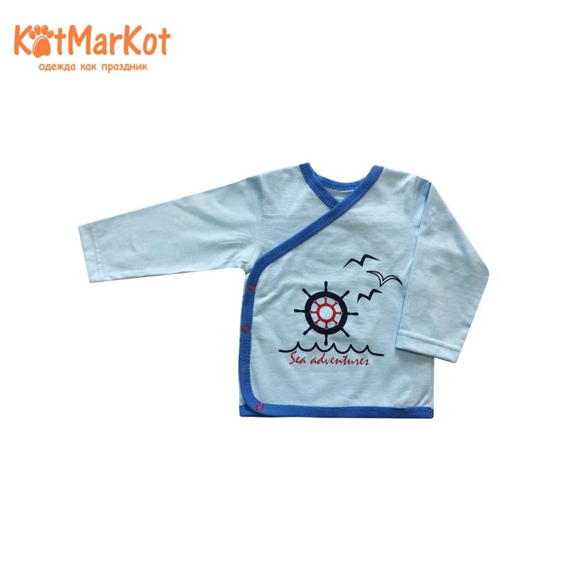 Blouse, Boys, КОТМАРКОТ, 7493 blouse for girls котмаркот 7196